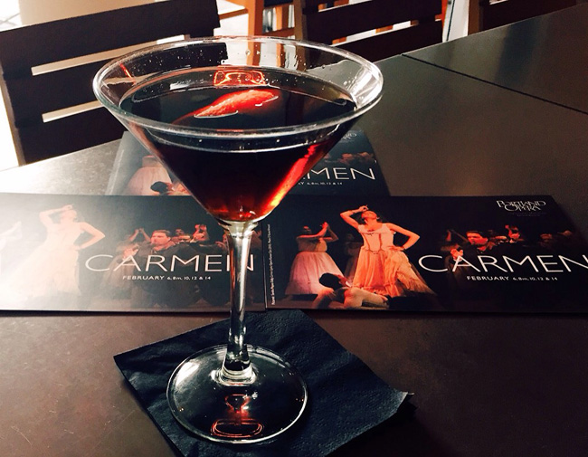 photo: The Carmen cocktail | Nel Centro, Portland
