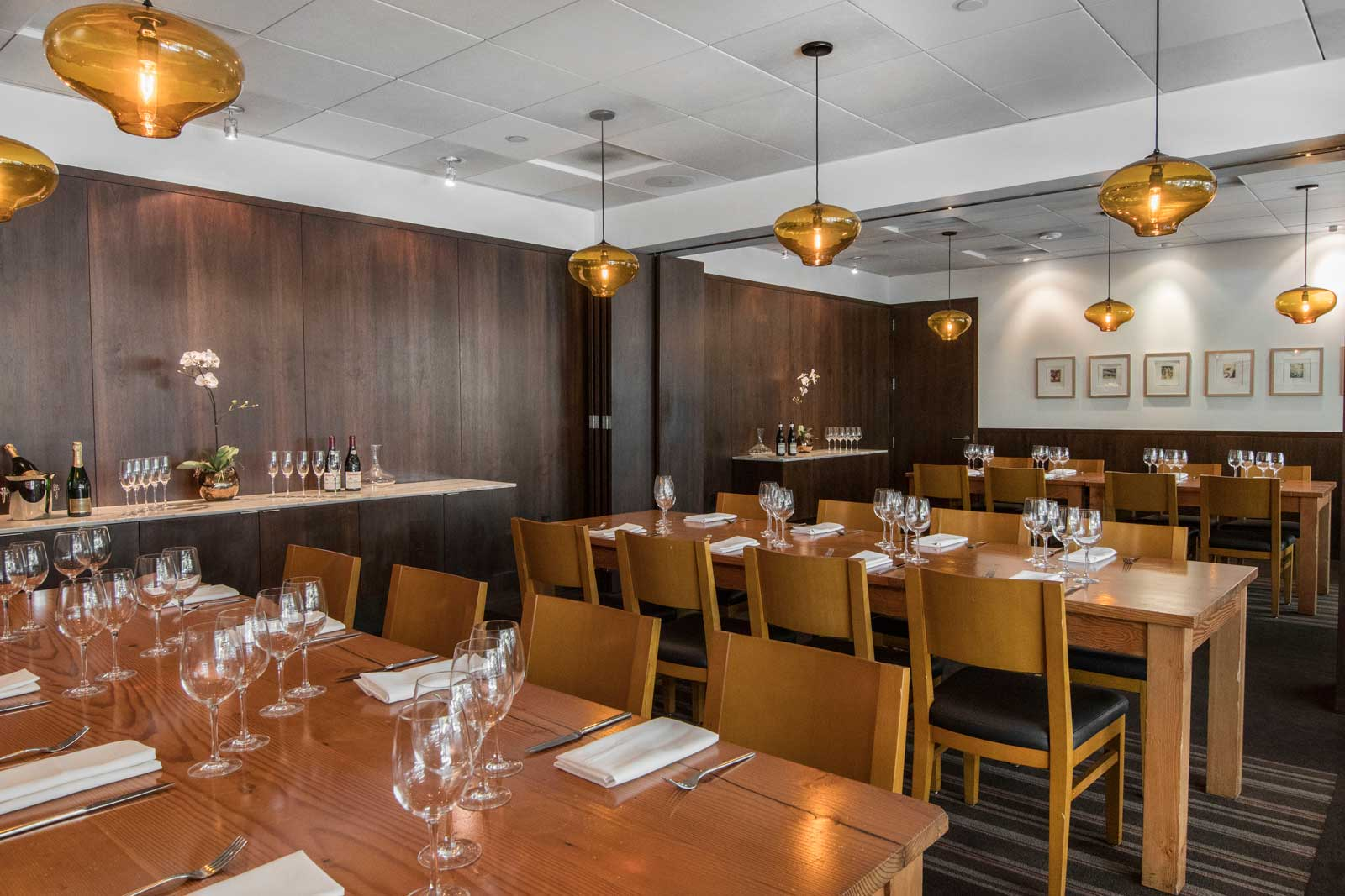 Geneva & Nizza Rooms | private dining, nel centro