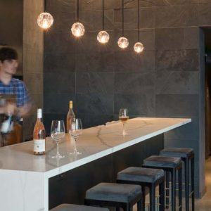 Pullman Winebar & Merchant, marble bar