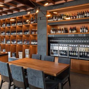 Pullman Winebar & Merchant, wine selection